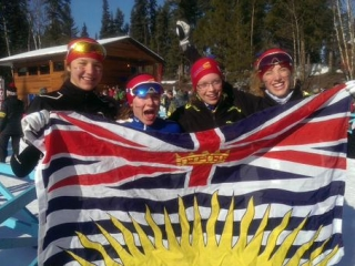 2015 Canada Winter Games Women's Relay Team