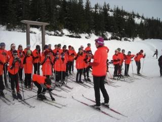 Teck Regional On Snow Camp (Coast), Mt. Washington.